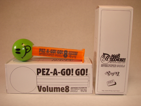 PEZ A Go Go 8 Convention Dispenser