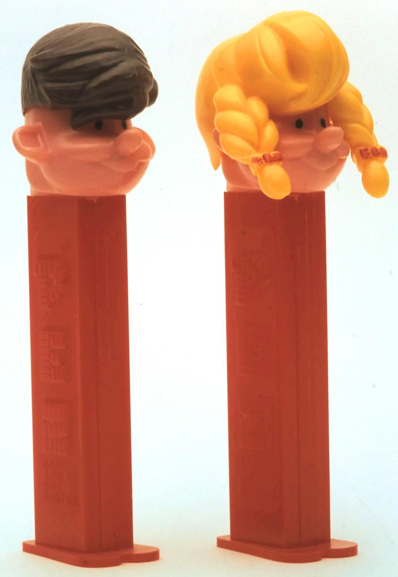 Boy and Girl Pez Pals