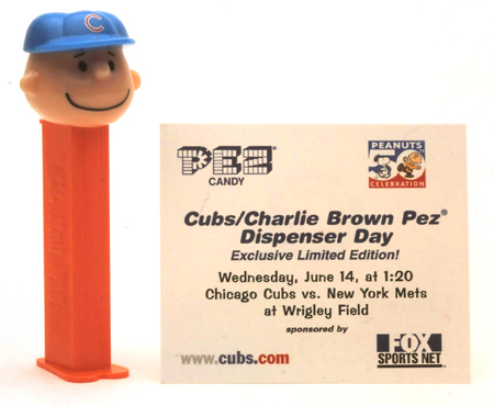 Cubs Charlie Brown
