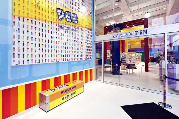Image result for pez visitor center